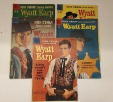 DELL COMICS GOLDEN AGE WYATT EARP No.4,5,6,8,921 (5 issues)
