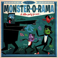 Monster-O-Rama LP & CD Jukebox Music Factory 2017 El Vidocq comp