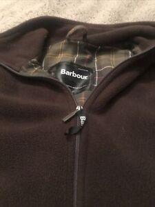 Pre Owned Mens Barbour Fleece Jacket Xl Green