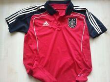 DEUTSCHLAND adidas DFB-Football-Trikot-Poloshirt-Jersey XL Germany 2009/10 rot