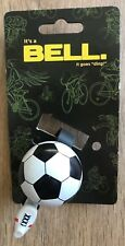 NEW Soccer Bicycle Bell Kids