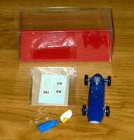ORIGINAL DINKY TOYS 1970 COOPER RACING CAR No. 240 BLUE KIT + FREE DISPLAY BOX