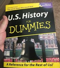 U. S. History for Dummies by Steve Wiegand (2001, Paperback)