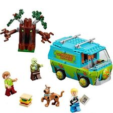 Scooby Doo Mystery Machine Bus Building Blocks toy Minifigures Compatible Lego