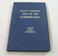 Scott County, Gem of the Cumberlands. SIGNED. Rugby, Tennessee. Huntsville.