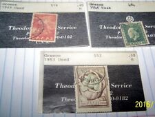 GREECE 1946-49-53 STAMP VINTAGE  LOT #484--519--553--MNH- LOT 62