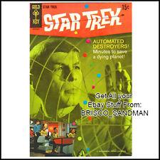 Fridge Fun Refrigerator Magnet STAR TREK COMIC BOOK COVER Issue 3 Gold Key