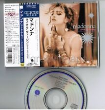 "MADONNA Like A Virgin&Other Big JAPAN 5"" CD Collectors Series WPCR-1501 w/OBI"