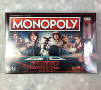 """Monopoly Hasbro """"Stranger Things"""" Edition Board Game SEALED."""