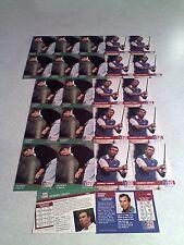 *****Hubert Green*****  Lot of 24 cards.....2 DIFFERENT / Golf