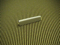 AAA BONE NUT BLANK for FENDER SLOTTED STYLE NECK - HANDMADE PRO LUTHIER'S STOCK