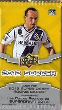 (2) 2012 UPPER DECK MLS SOCCER JERSEY HOT PACK