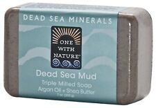 One With Nature Dead Sea Minerals Soap - 7 Ounce Bar - Dead Sea Mud