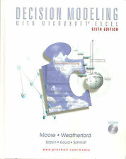 MOORE e WEATHERFORD: DECISION MODELING WITH MICROSOFT EXCEL _ 2001 _ Management