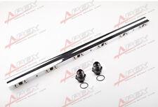 FOR BMW M20, M50, S50 Euro Cars Only High Flow CNC Billet Aluminum Fuel Rail F
