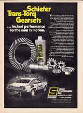 "1972 CHEVROLET VEGA  -  BILL ""GRUMPY"" JENKINS DRAG RACING  ~  GREAT SCHIEFER AD"