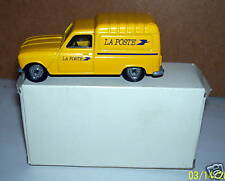 OLD RARE SOLIDO RENAULT 4 L 4L FOURGONNETTE POSTES POSTE PTT réf 1213 IN BOX a