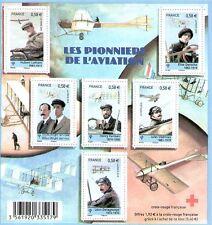 SERIE 4504-4509 NEUF XX  LUXE - LES PIONNIERS DE L'AVIATION - CROIX ROUGE