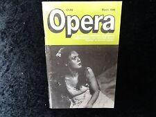 Opera Magazine - March 1988