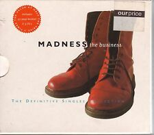 MADNESS The Business VG 1993 Virgin UK 3cd fatbox w/booklet & slipcover MADBOX-1