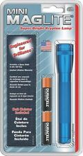 NEW MAGLITE M2A11H BLUE FLASHLIGHT 2 AA MINI MAG-LITE NEW IN PACK SALE 2410702