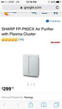 Sharp Fp-P60Cxair Purifier Plasmacluster Technology $150