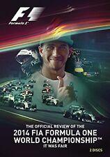 F1 Formel 1 Saison Rückblick 2014 [DVD] NEU Lewis Hamilton Weltmeister Review