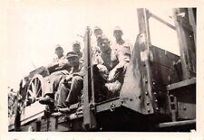 Deut. Soldaten Militärfahrzeug Eisenbahn Wagon bei Kutno Polen 1939