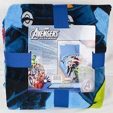 """Marvel Avengers Assemble Plush Blanket Twin/Full - 62"""" X 90"""" Throw"""