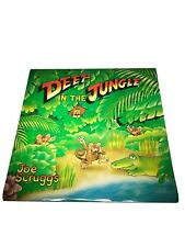 Deep In The Jungle Lp Joe Scruggs 1984 Educational Graphics Bns 913 Vg w/ insert
