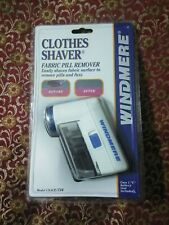 Windmere Clothes Shaver Cs-1 Cp Fabric Pill Remover New