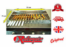 CHARGRILL ON STAND FOR SEEKH KEBAB SHEESH / NATURAL OR BOTLE GAS CHARCOAL GRILL