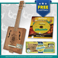 The Electric Strum Box Ukulele Complete Kit - EASY & FUN - Learn the Ukelele! FS