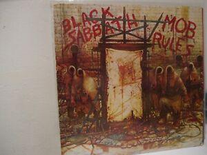 BLACK  SABBATH  ,, MOB RULES,, LP von 1981
