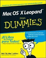 Mac OS X Leopard Para Dummies (Spanish Edition) (Para Dummies/for Dumm-ExLibrary