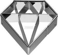 Diamant 4,5cm Präge-Ausstecher Ausstechform Keksausstecher Schmuck Juwel Deko