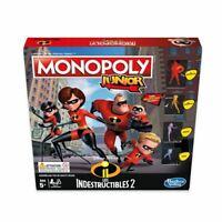 Jeu de société Monopoly Junior - Les Indestructibles II (2) - NEUF SOUS BLISTER