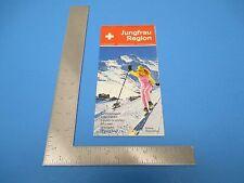 International Travel Brochure Switzerland Jungfrau Region Wintersport S890