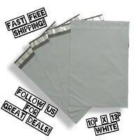upaknship 10x13 White poly mailers shipping envelopes