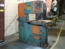 Doall 36 Vertical Band Saw Mdl3612 H