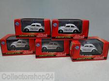 Schuco : VW Beetle Dutch Police Amsterdam 1:72 ( 5 pieces )
