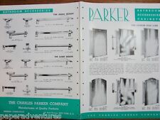 1946 Charles PARKER CO Bathroom Wall Mirror CABINETS Accessories Vintage Catalog