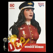 Dc Bombshells Wonder Woman 7.5� Resin Bust Emanuela Lupacchino Dc Comics!