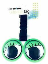 Green eyes Luggage Tag