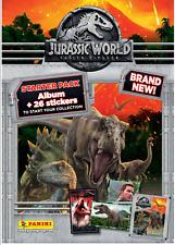 Jurassic World Fallen Kingdom Sticker Starter Pack Game