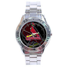 St. Louis Cardinals MLB Stainless Steel Analogue Men's Watch Gift