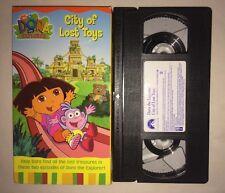 Dora the Explorer - City of Lost Toys (VHS, 2003) NICK JR NICKELODEON RARE