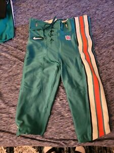1998 Miami Dolphins Starter Nike Game Worn Used Pants Size 34