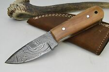 Skinner peaux Couteau damassé couteau Couteau de chasse damassé couteau Damascus Knife #214
