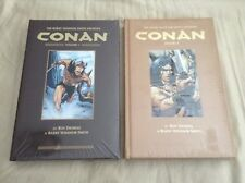 Barry Windsor-Smith Archives Conan Volumes 1 & 2 HC Graphic Novels - Dark Horse